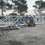 ساخت پل عابر پیاده